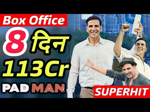 Padman 8th Day Box Office Collection | Worldwide Collection | Akshay Kumar