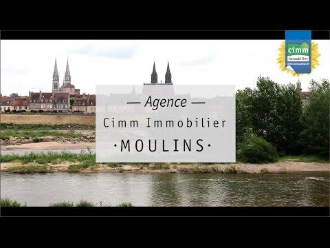 Découverte de Moulins (03) - Agence d'Isabelle Rouzeau