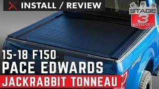 2015-2018 F150 & Raptor 5.5ft Bed Pace Edwards Jackrabbit Retractable Tonneau Cover Install