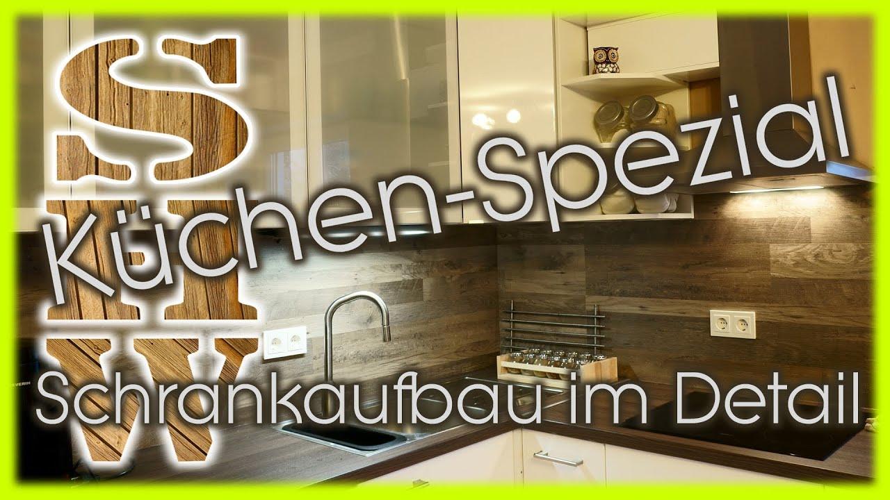 Aufbau einer Küche: IKEA FAKTUM Küchenschrank im Detail - YouTube