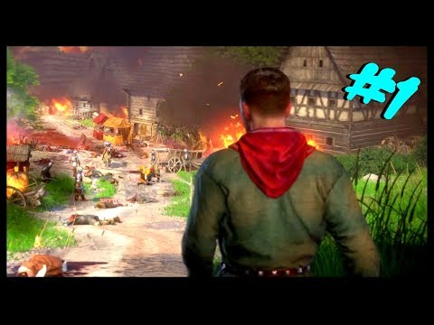 Kingdom Come: Deliverance | First Hour 1/2 of Gameplay! | Walkthrough Part 1