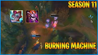 This Burning Machine Lillia Builds Work in Season 11...LoL Daily Moments Ep 1230