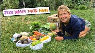 ZERO WASTE FOOD HAUL // I'm a noob!