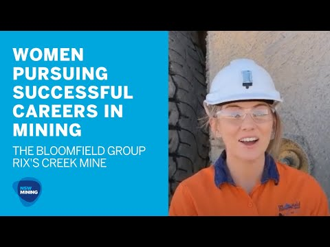 Women Are Forging Careers In Mining