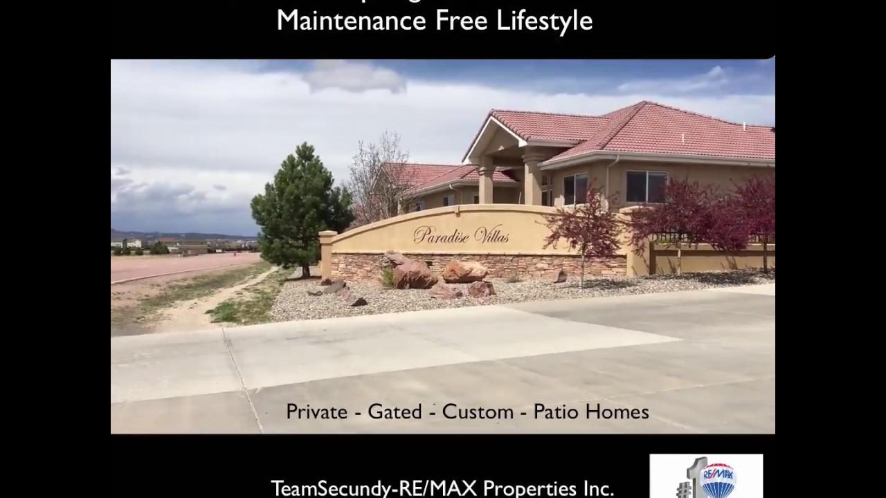 Paradise Villas Patio Homes Colorado Springs 80921