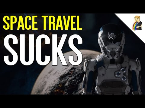Space Travel Is The Worst Part Of Mass Effect: Andromeda