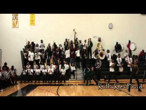 Cass Tech High School Alumni Band - Nobody Does It Better - 2012