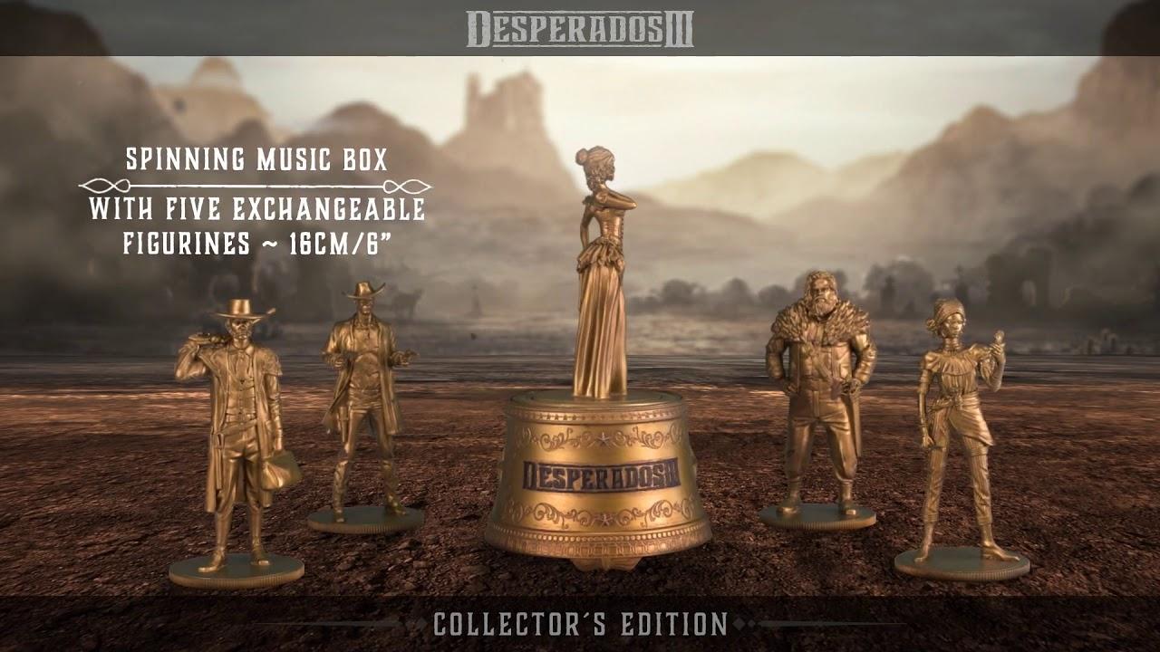 Desperados Iii Ps4 Xone Pc Collector S Edition Trailer Youtube