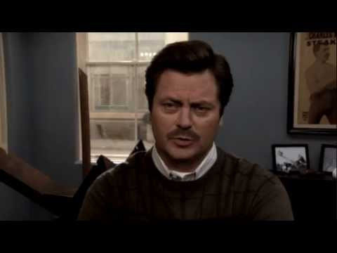 Getting a Little Chummy is listed (or ranked) 4 on the list The Funniest Ron Swanson Quotes