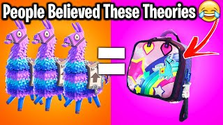 13 INSANE FORTNITE THEORIES YOU THOUGHT WOULD COME TRUE!