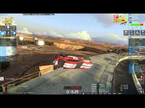 TrackMania Canyon (Funny moments and Gameplay) #1 |