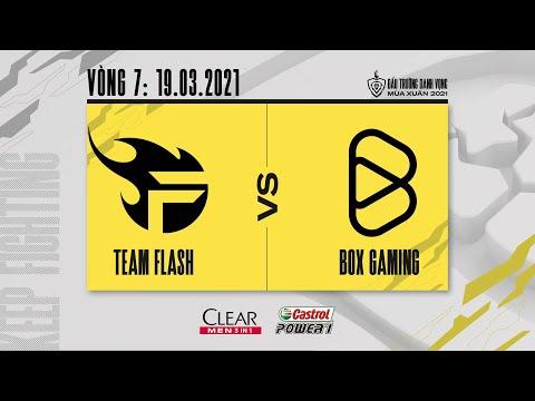 Team Flash vs Box Gaming - Vòng 7 ngày 2 [19.03.2021]   ĐTDV mùa Xuân 2021