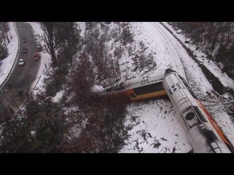 Le train des Pignes déraille: deux morts, dont une Russe