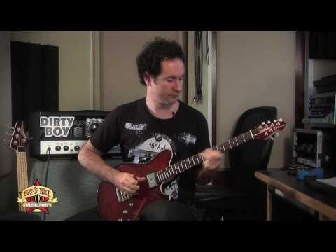 Blues Saraceno & The Ernie Ball Music Man 25TH Anniversary Guitar