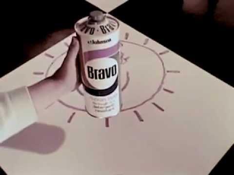 Vintage Old 1970 S Sc Johnson Bravo Floor Wax Commercial 2