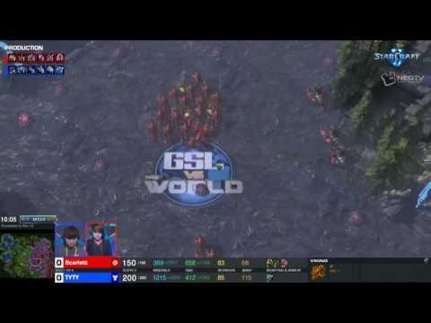 8月4日世界全明星赛16进8(2) TY(T) vs Scarlett(Z)