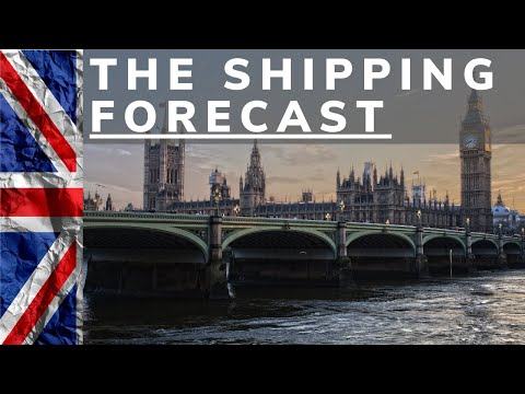 THE SHIPPING FORECAST | Maritime Radio for Focus, Sleep, or Relaxation