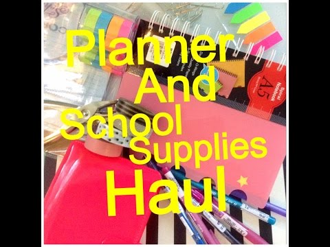 Haul | School Supplies and Planner (Daiso, National Bookstore, Metro,etc.)
