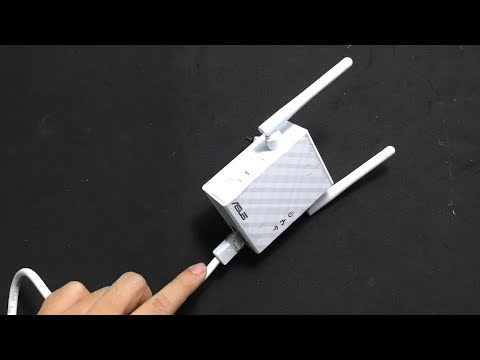 ASUS : How To Use LAN Port Of Asus Wi-Fi Extender ( RT-N12 )