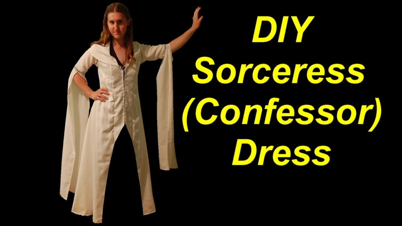 How to make a medieval sorceress costume confessor dress youtube how to make a medieval sorceress costume confessor dress solutioingenieria Choice Image