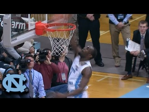 UNC's Theo Pinson Delivers Thunderous Tip-Dunk vs. Pitt