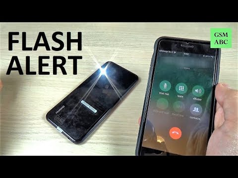 How To Set Up FLASH ALERT On Huawei P20, Lite & Pro   NOT BUILT IN!