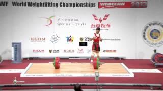 RUIZ GASSO Lazaro Maykel 2j 147 kg cat. 56 World Weightlifting Championship 2013
