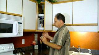 How To Install The Converter Fastener From Ez Slide Cabinet Hardware
