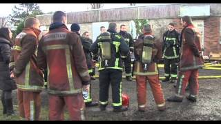 Un exercice au feu réel pour les pompiers du secteur de Plaisir