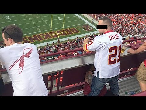 Redskins Fans Getting Blow Jobs in the Stands from YouTube · Duration:  1 minutes 24 seconds
