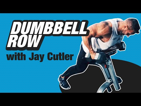 Dumbbell Row with Jay Cutler - Train Like A Pro - BPI Sports Ep. 1