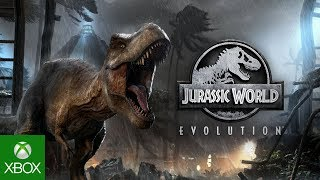 Jurassic world evolution, available to pre-order now on xbox one!build your own world, bioengineer new dinosaur breeds, and construct attractions, c...