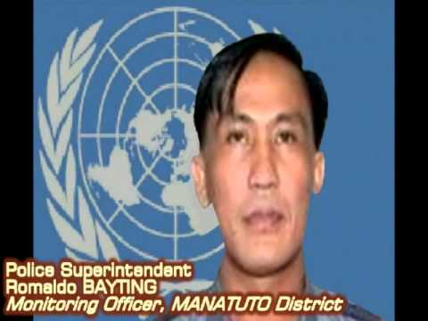 153 Pinoy Contingent - UN Peacekeeper - UNMIT 2009-2010 - part 1