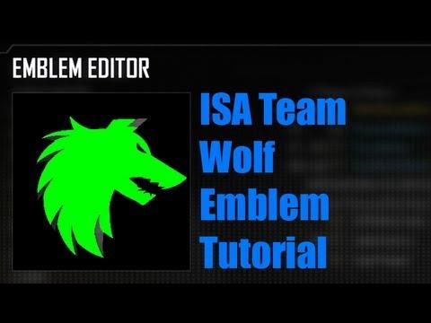 Black Ops 2 ISA Wolf Emblem Tutorial