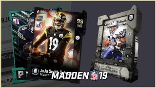 Opening my MUT 19 Fan Appreciation packs and finishing the solos to...