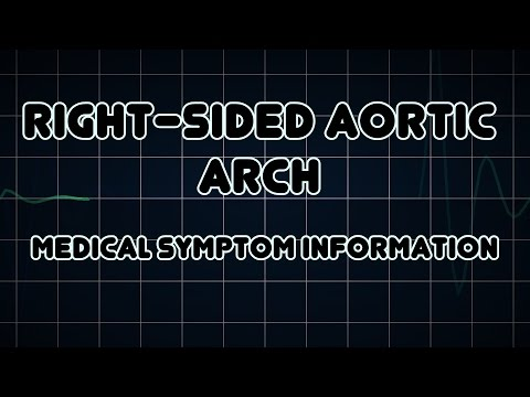 Right-sided aortic arch (Medical Symptom)