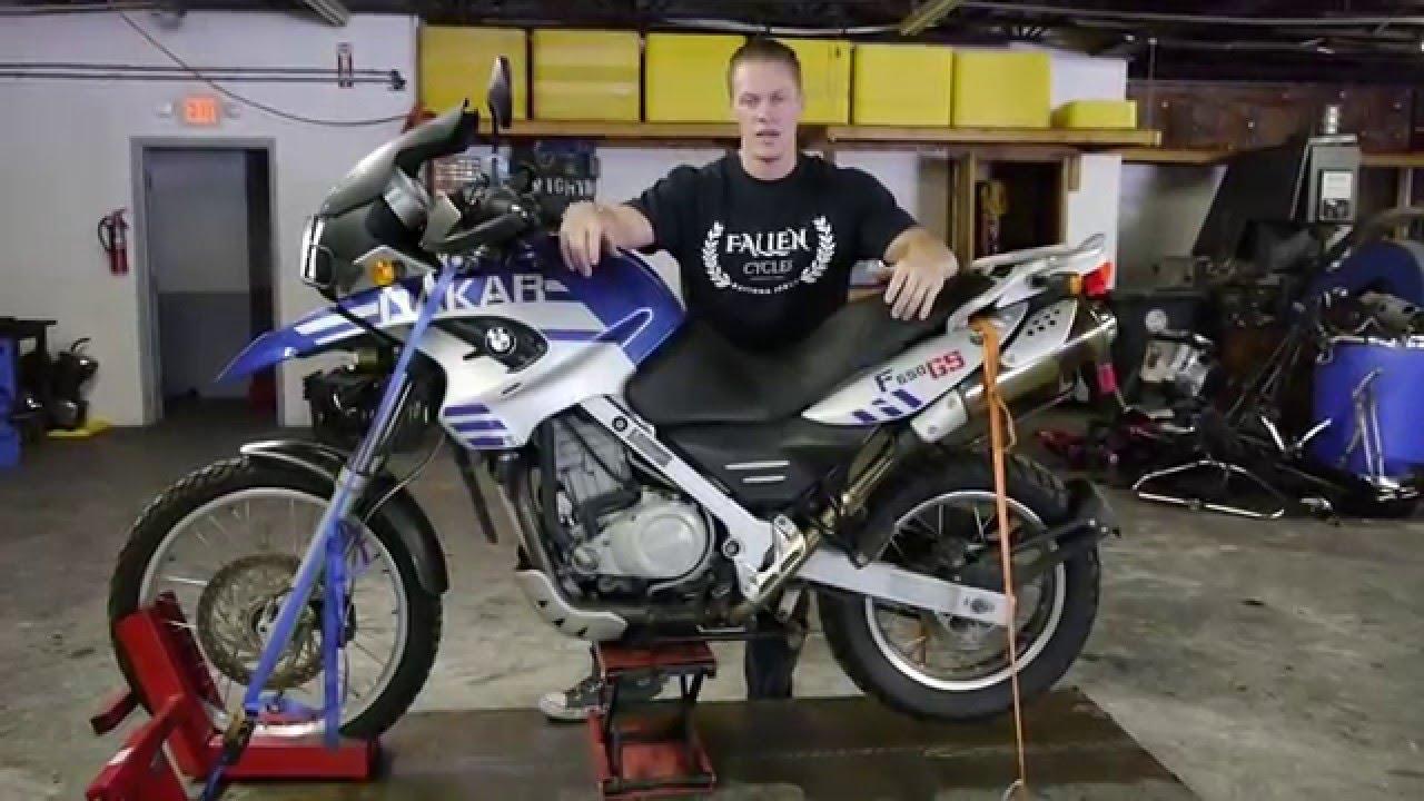2006 Bmw Dakar F 650 Gs Blu Gry Fallen Cycles Test Ride Youtube