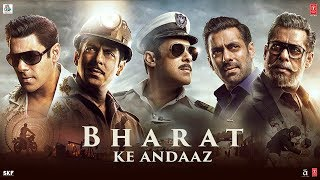 Bharat Ke Andaaz | Bharat | Salman Khan | Katrina Kaif | Movie Releasing On 5 June 2019
