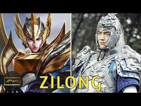 Kisah Zilong (Zhao Yun) Sang Putra Naga