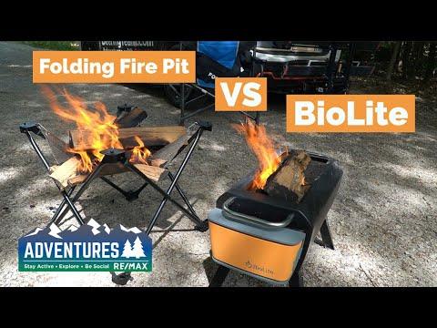 Folding Fire Pit vs BioLite Fire Pit   Gear Review