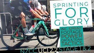 Sprinting For The Win (HD) - 2019 New Zealand Cycle Classic UCI 2.2 Stage 1 & 2 - NZ Road Racing