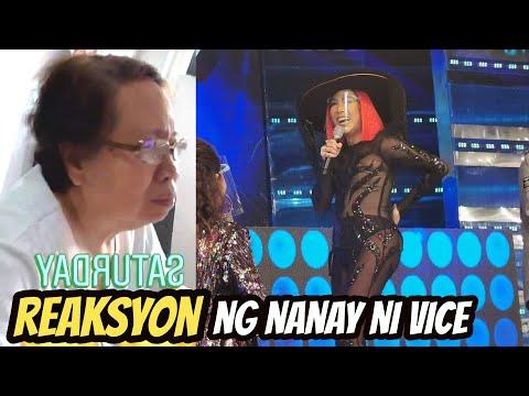 NANAY Rosario hindi nakapagpigil mag REAK sa Suot ni Vice Ganda sa Showtime June 13 2020