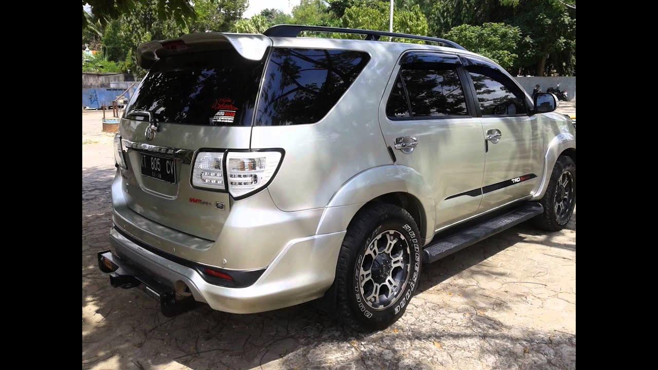 Dijual Mobil Toyota Fortuner TRD Solar Manual Samarinda HP