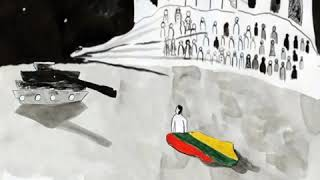 """Darbo autorius: """"Praeitis-kelias į laisvę"""", Ieva Stalauskaitė, 12 m., Liuksemburgas"""
