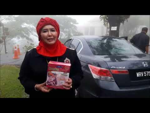 testimoni iron lady kekal sihat, cantik dan bertenaga ~Datuk Dr Maznah Hamid