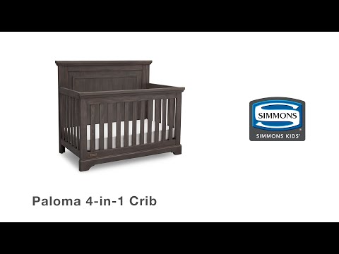 Simmons Kids® Paloma 4-in-1 Crib Assembly Video
