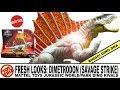 Toy Shiz FRESH LOOKS: DIMETRODON Mattel Dino rivals Jurassic Park