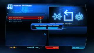 Mass Effect 3 How to reset powers (RESPEC) Shepard by GameShampoo