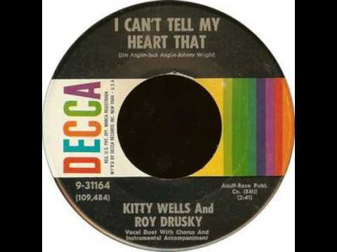 Kitty Wells / Roy Drusky ~ I Can't Tell My Heart That
