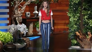 The Gorgeous Gigi Hadid's Ellen Debut! thumbnail